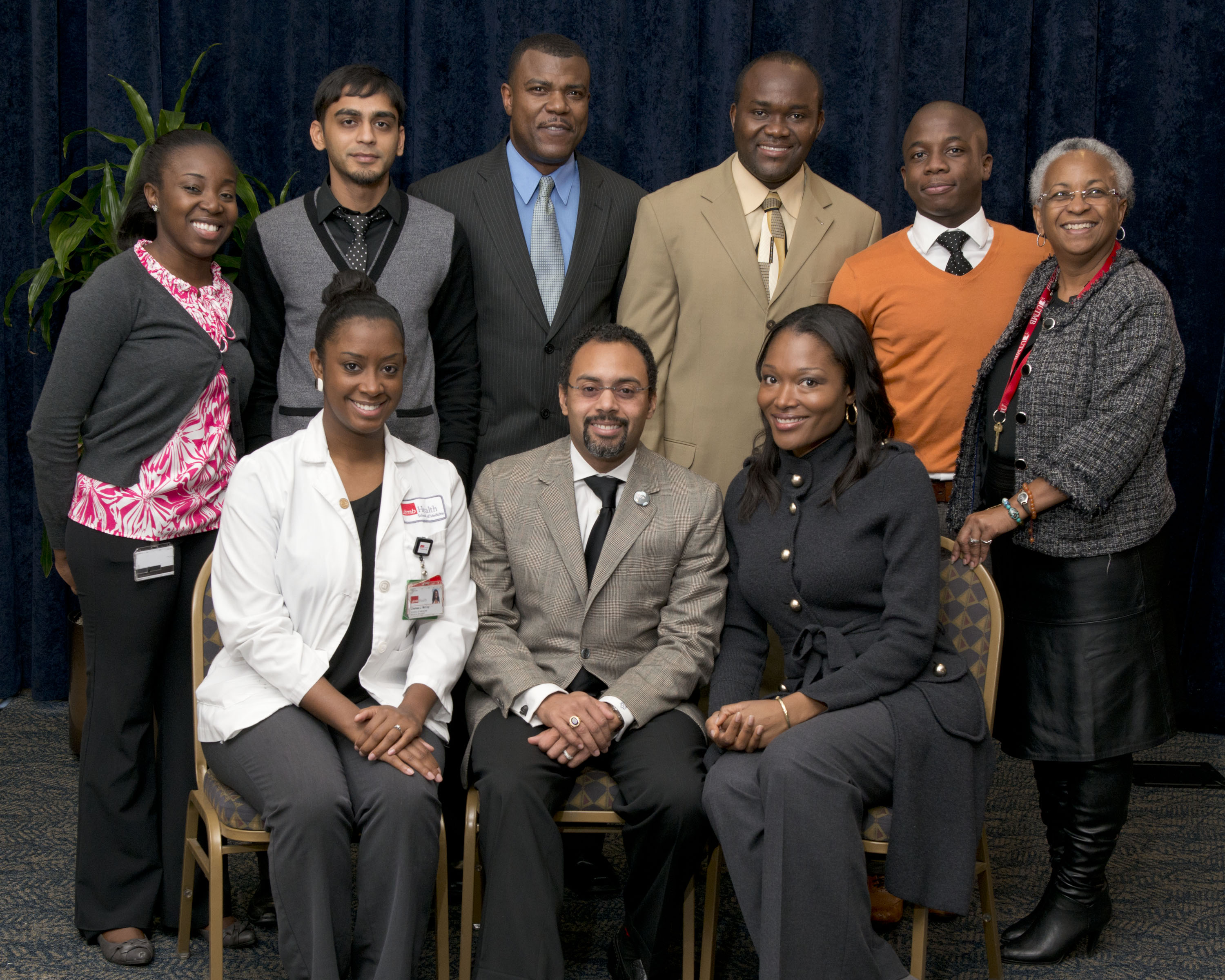 Program Committee members included Jaisie Stevens, Victor Jackson, Johnny Scott, Adeola Oduwole, Yoni Benson, Kelly L. Panfilli (not pictured),Chelsea McCoy, Ketul Patel, Oluwarotimi Folorunso and Larry Krcma (not pictured).