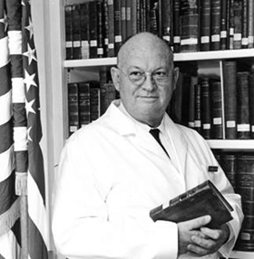 Dr. Truman G. Blocker procured for UTMB one of the largest medical history libraries in the United States.