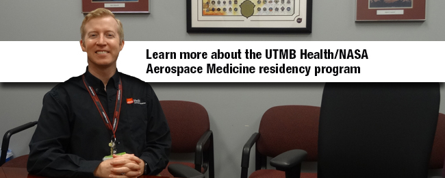UTMB Research - Aerospace program