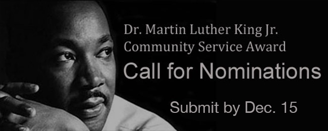 MLK Call for nominations