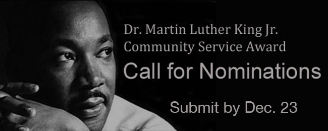 MLK Community Service Award
