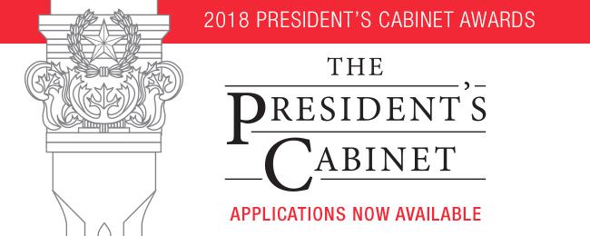 President's Cabinet Awards 2018