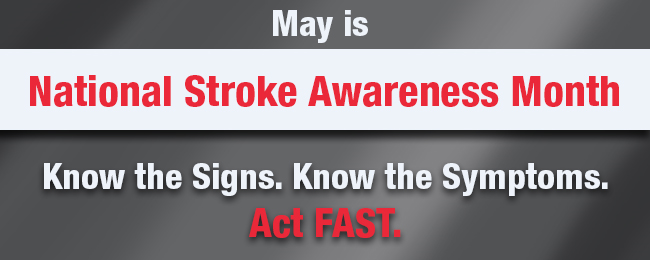 Stroke Awareness Month