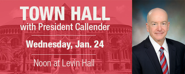 Town Hall Jan. 24