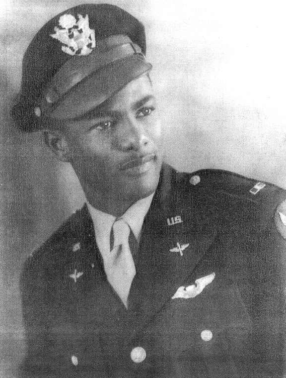 A young Barnett in military