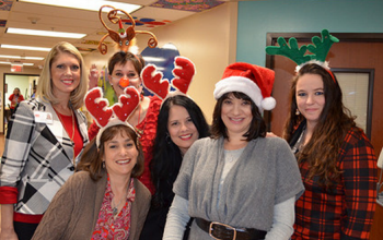 EAC spreads holiday cheer in Pediatrics