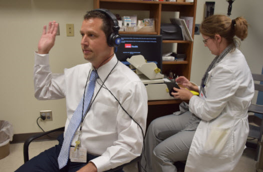 Free hearing screenings for employees