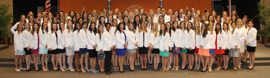 White coats welcome new physician assistants