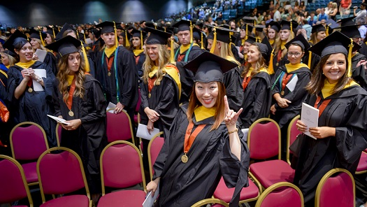 School of Health Professions celebrates largest graduating class