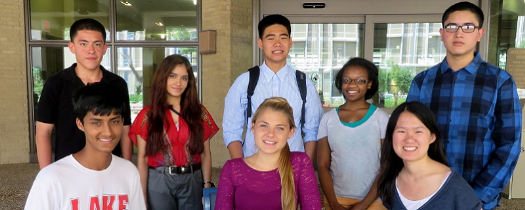 High school students gain world-class research experience at UTMB
