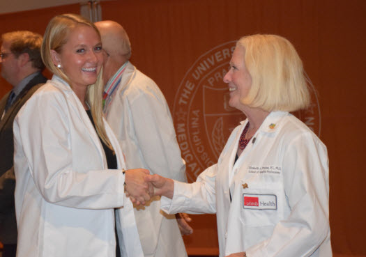 White coats welcome new physician assistant students