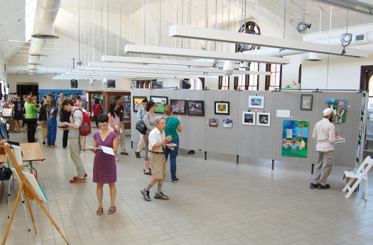 Students, faculty display works of art at Artistic Expressions show