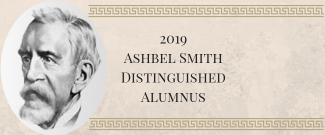 Five honored with UTMB's Ashbel Smith Distinguished Alumnus Award