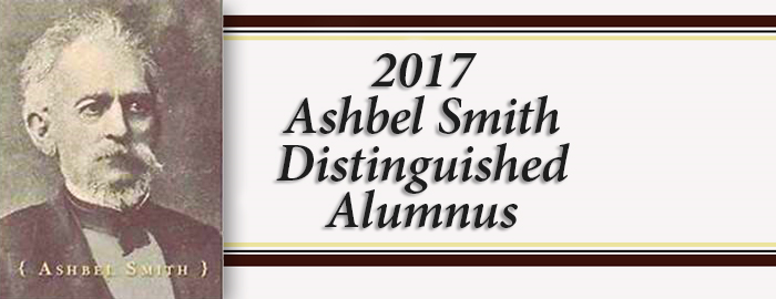 2017 Ashbel Smith Distinguished Alumnus award winners inducted