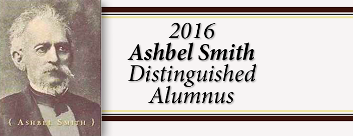 Four UTMB alumni honored with Ashbel Smith Distinguished Alumnus Awards