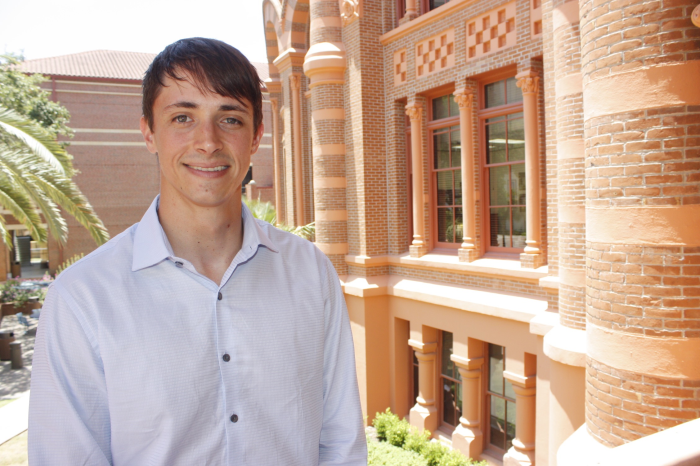 UT student regent sets sight on goals to improve educational experience System-wide