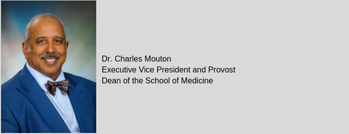 Mouton named new UTMB provost and dean of medicine