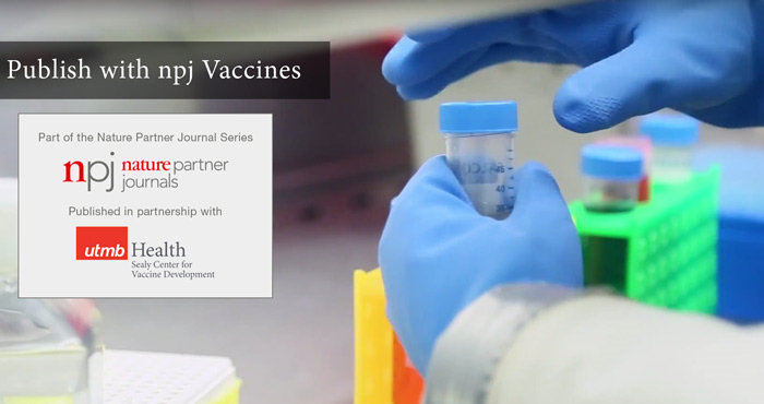 New open access journal npj Vaccines announced by Nature Publishing Group and The University of Texas Medical Branch