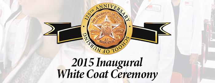 UTMB School of Nursing to celebrate new class with inaugural Gold-AACN White Coat Ceremony
