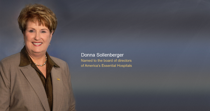 UTMB's Sollenberger new chair of America's Essential Hospitals