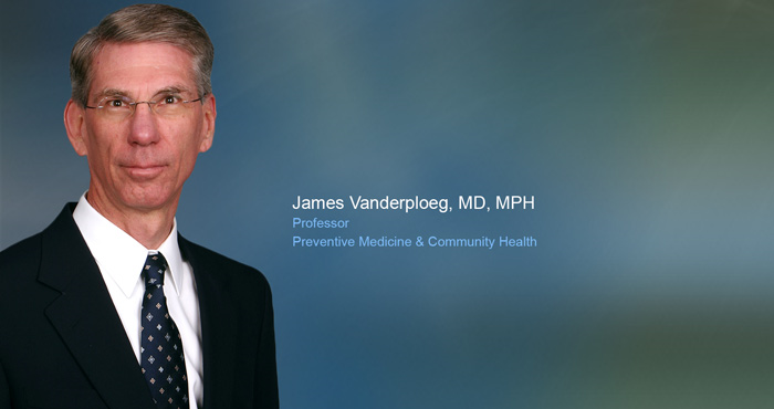 UTMB's Vanderploeg recognized by his peers