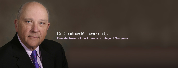 Townsend is president-elect of American College of Surgeons