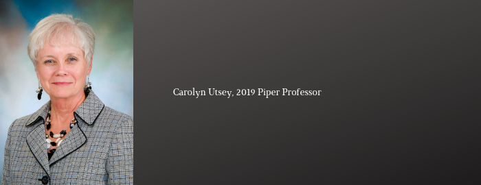 UTMB professor named a 2019 Piper Award Winner
