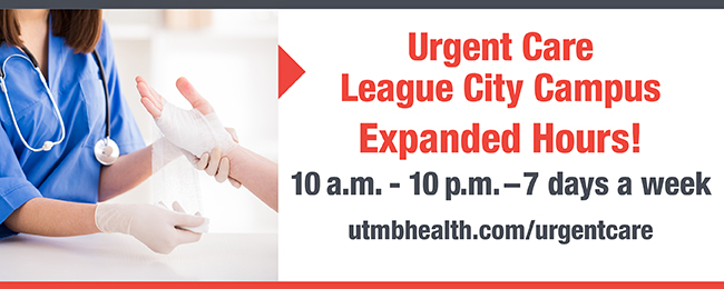 image linking to hours information for league city urgent care extended hours