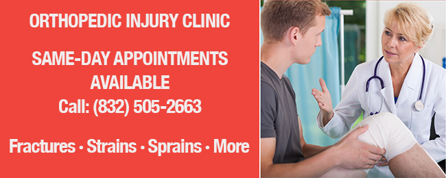 image for same day appointments ortho injury clinic