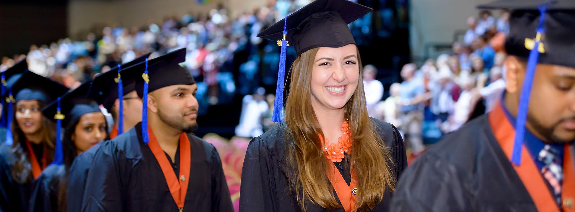 UTMB graduation ceremony