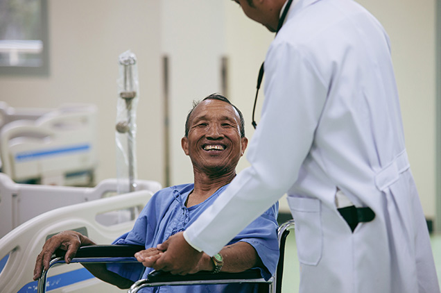 Patients at UTMB Health