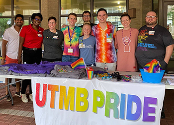 Pride celebration at UTMB Health