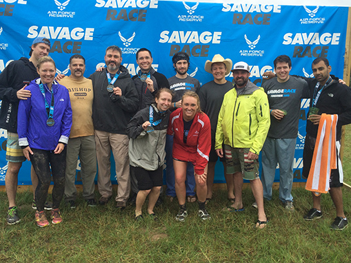 Neurosurgery Residents and Faculty Participate in Savage Race