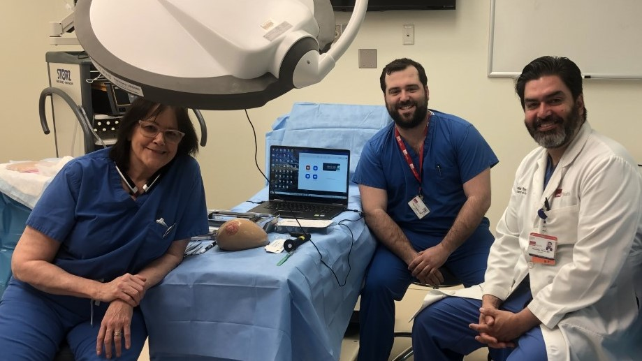 V. Suzanne Klimberg, MD, PhD, MSHCT, FACS- the Medical Director for the UTMB Cancer Center, Taylor P. Williams, MD- our inaugural Surgical Education and Simulation Research Fellow, and Alexander Perez, MD, FACS- the Surgical Director of the LSTAR
