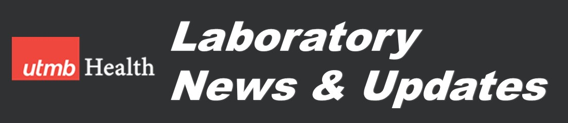 UTMB Lab News and Updates Banner