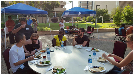 Postdoc Appreciation Week (2015) Social Dinner2