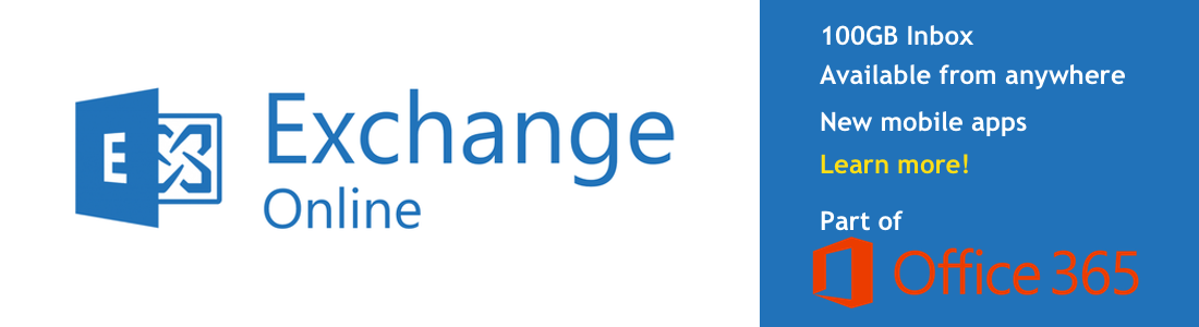 Exchange Online, part of Office 365