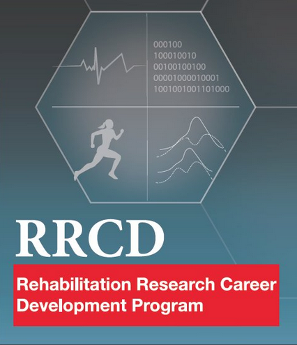 graphic with RRCD logo and silhoette of woman, science details