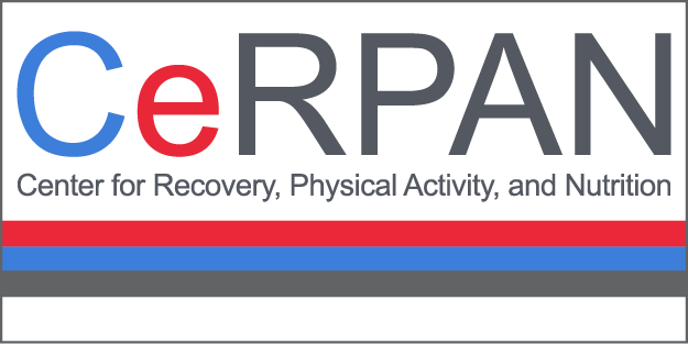 logo for the Center for Recovery, Physical Activity and Nutrition