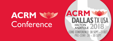 ACRM Conference 2018