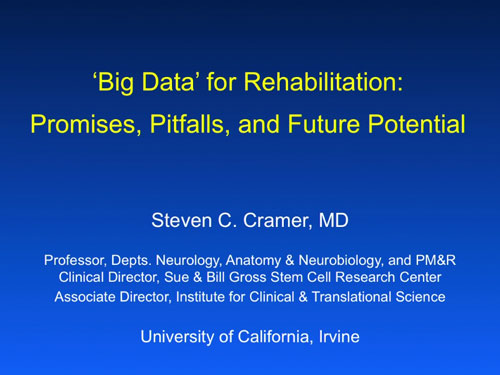 presented by Steven Cramer, MD