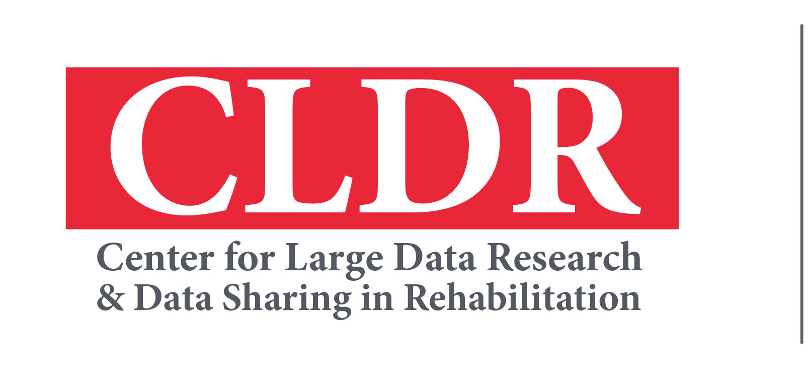Pilot projects information center for large data research and data sharing in rehabilitation utmb health