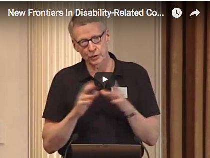 New Frontiers in Disability Related Comparative Effectiveness Research (CER)