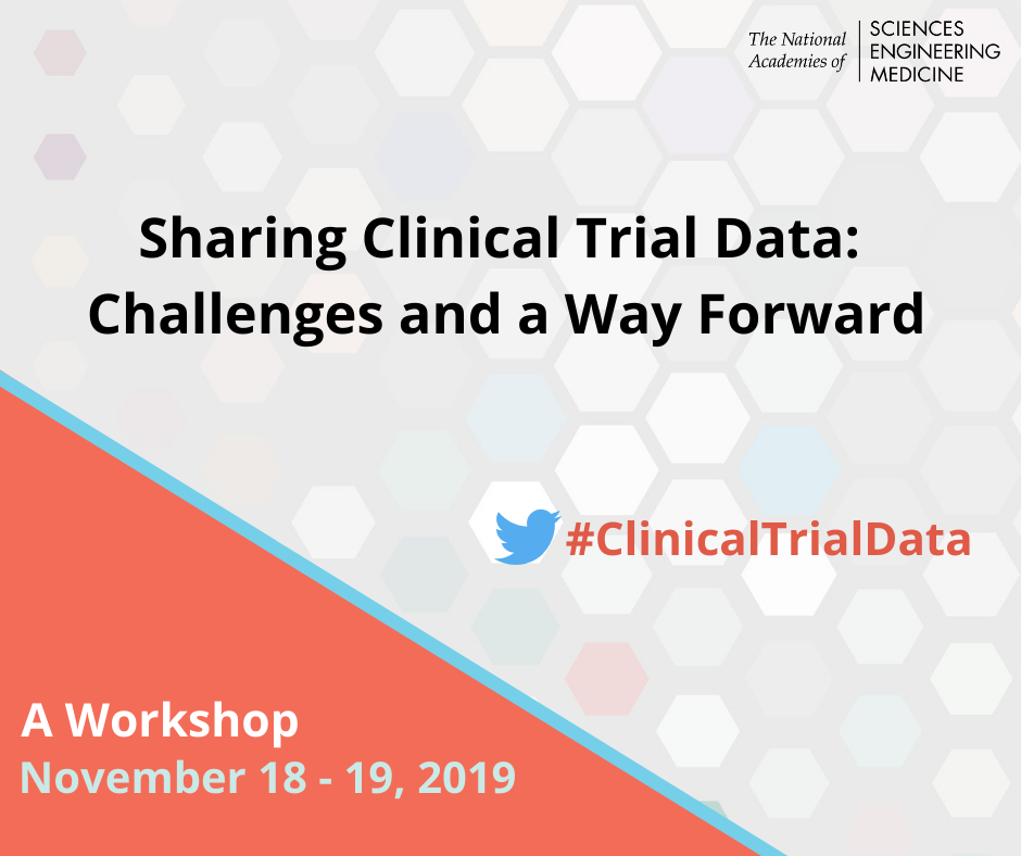 sharing clinical trial data