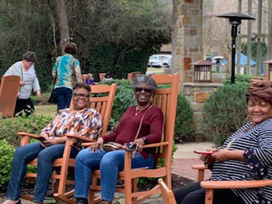 Attendees at Abundant Living 2020