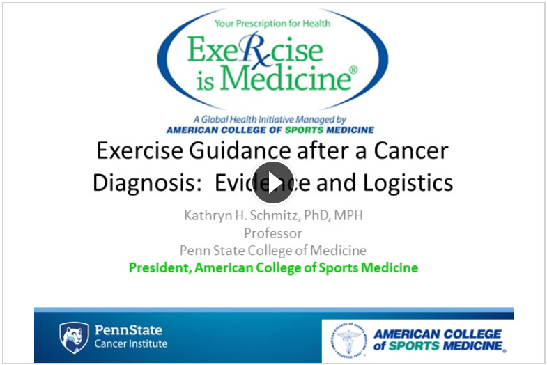 ExerciseGuidanceAfterCancer