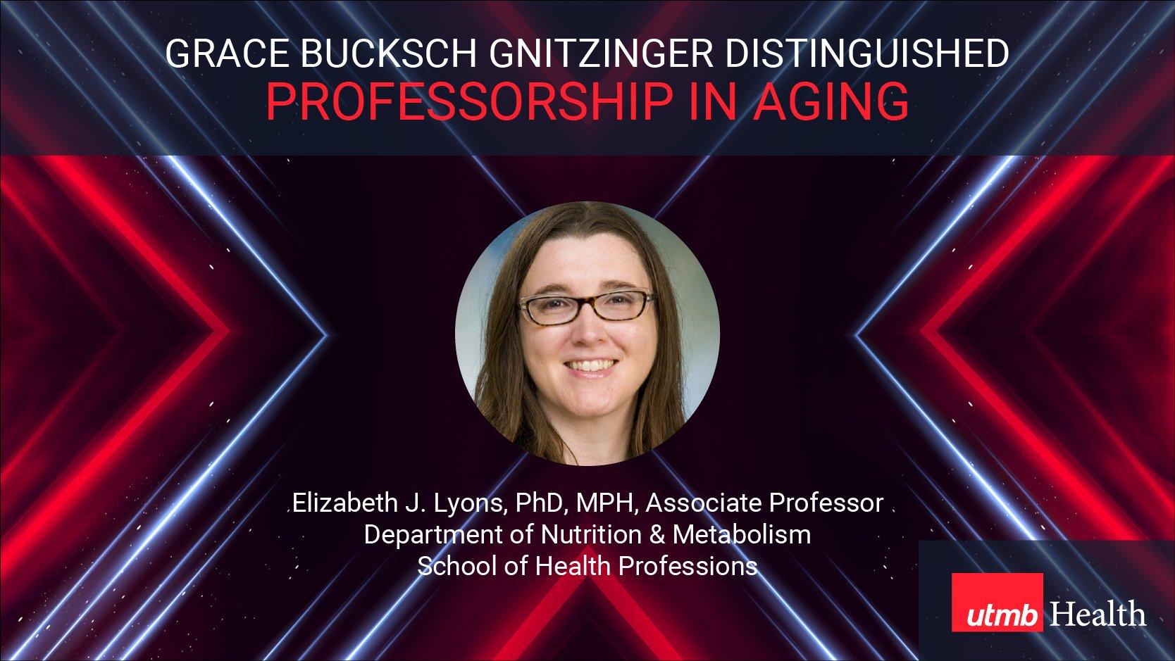 Lyons Aging Professorship