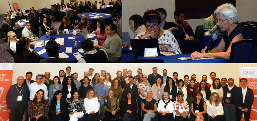 photo collage of attendees