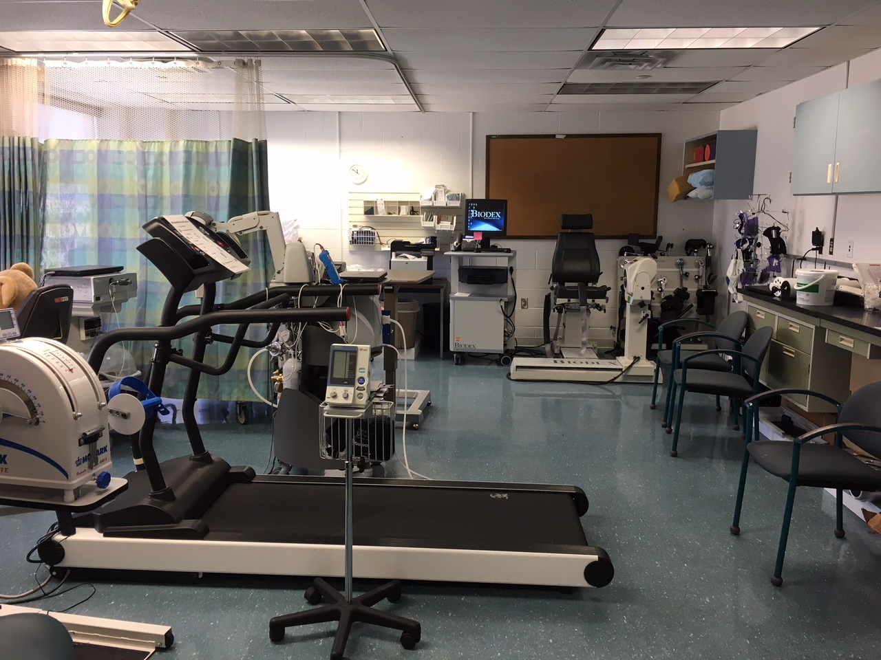 photo of exercise lab