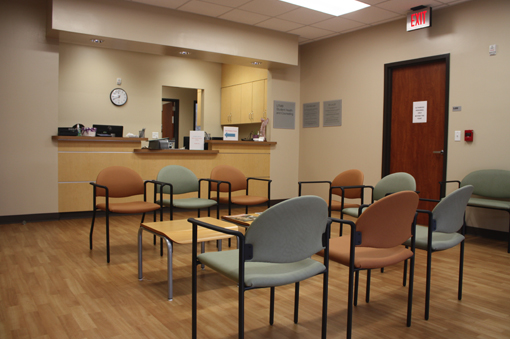 Student Health waiting room
